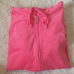Juicy Couture BLACK LABEL 💕BUBBLE GUM Pink zip up
